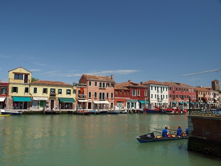 murano: View of Canal Grande di Murano, Venice, Italy