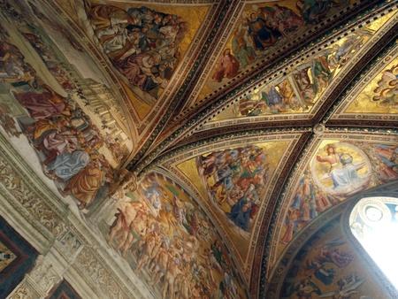 cappella: Orvieto - Duomo interior. Cappella Nova o de San Brizio