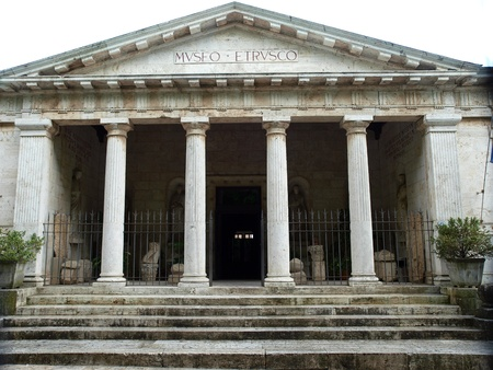 etruscan: Chiusi - Etruscan museum   Tuscany, Italy