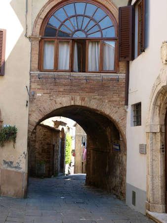 montalcino: Montalcino - old architecture and fine wine Editorial