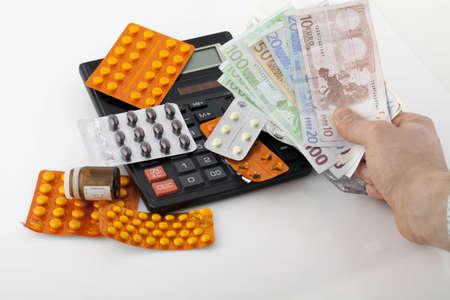 Expensive medicines  photo