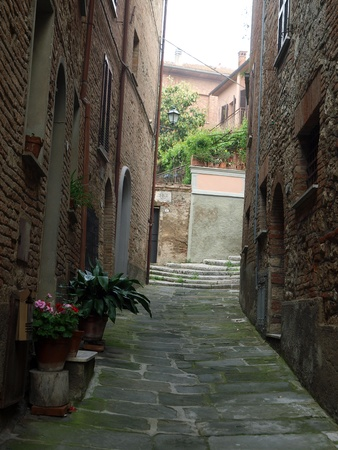 etruscan: Chiusi - one of the most ancient Etruscan towns in Tuscany, Italy Stock Photo