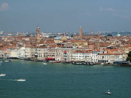 maggiore: Venice - view from the tower of the church of San Giorgio Magiore