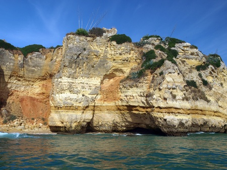 vilamoura: Picturesque Alagarve coast between Lagos and the Cap Vincent