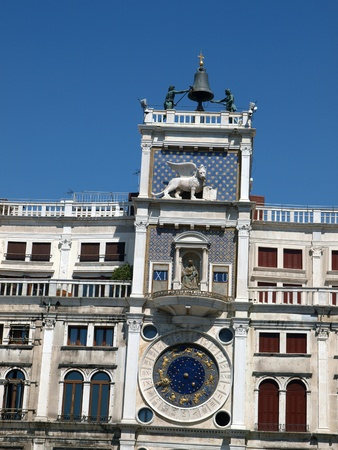 clock of the moors: Venice, Torre dell'Orologio - St Marks clocktower