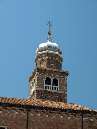 murano: Venice - st. Peters church from Murano island  Editorial