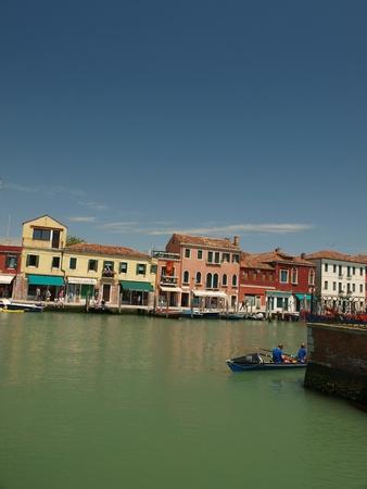 Murano: View of Canal Grande di Murano, Venice