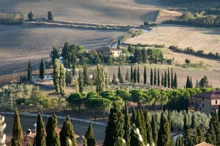 The landscape of the  Tuscany. Italy Stock Photo - 13137068