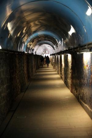 Cinque Terre - The Tunnel between Riomagiorre and via dell amore