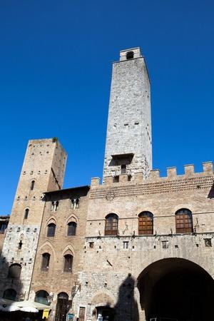 San Gimignano towers, Tuscany, Italy Stock Photo - 13282874