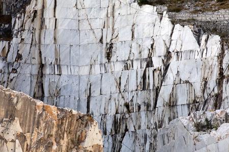 The Marble Quarries - Apuan Alps , Carrara, Tuscany, Italy Stock Photo - 13340259