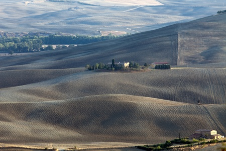 The landscape of the  Tuscany. Italy photo