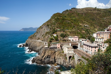 beautiful coastline in Cinque Terre, Liguria, Italy Stock Photo - 13494434