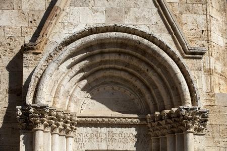 san quirico dorcia: Church La Collegiata di San Quirico DOrcia,Tuscany