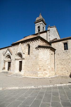 san quirico: Church La Collegiata di San Quirico DOrcia,Tuscany