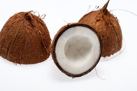 coco nut isolated Stock Photo - 13549694