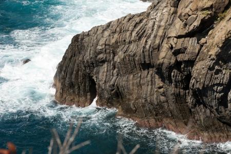 beautiful coastline in Cinque Terre, Liguria, Italy photo