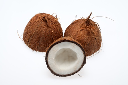 coco nut isolated photo