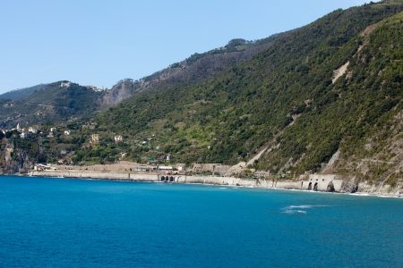the picturesque coastline of the Cinque Terre photo
