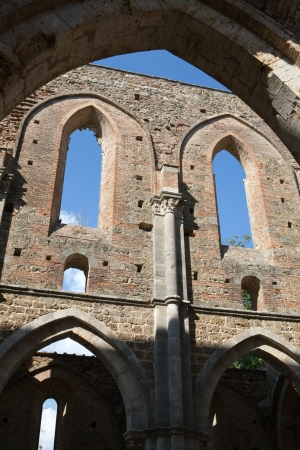 Abbey of San Galgano, Tuscany, Italy photo