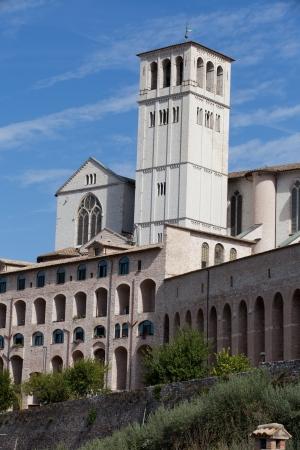 Basilica of Saint Francis, Assisi, Italy  photo
