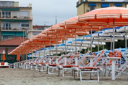 viareggio: a morning at the beach