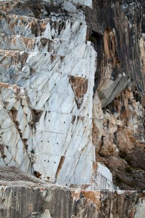 carrara: The Marble Quarries - Apuan Alps , Carrara, Tuscany, Italy