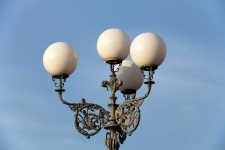 streetlamp: Florence-Piazza Michelangelo Street lamp