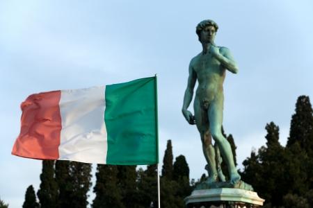 David by Michelangelo - Florence - Piazza Michelangelo  photo