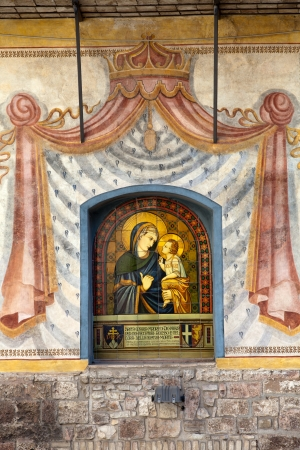 Assisi - Mary and Jesus