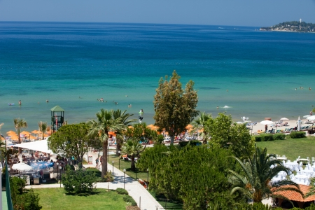 Aegean coast - Recreaiton area and beach