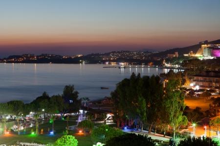 holiday turkey: Aegean coast - Recreaiton area and beach
