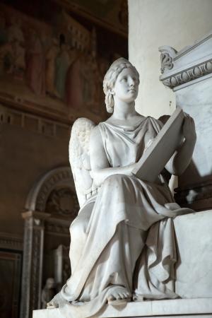 humanist: Florence - Santa Croce  Tomb of Prince Neri Corsini