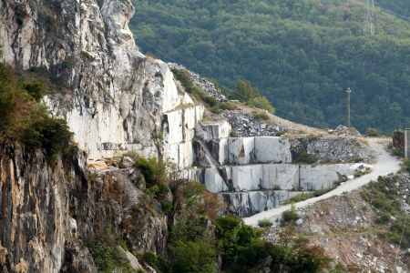 The Marble Quarries - Apuan Alps , Carrara, Tuscany, Italy photo