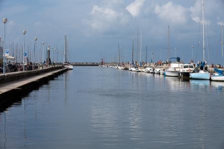 viareggio: Viareggio - The Burlamacca canal.