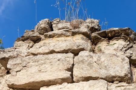 troy: Ancient ruins in Troy.  Turkey