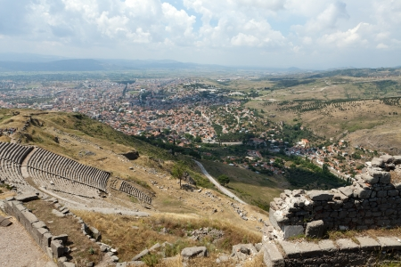 The Hellenistic Theater in Pergamon photo