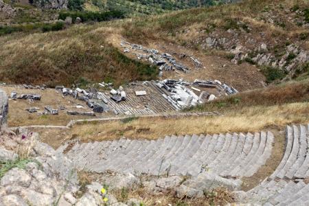 The Hellenistic Theater in Pergamon photo