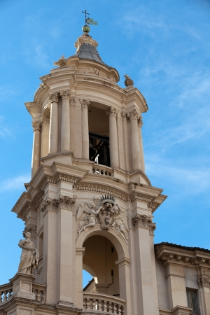 Sant'Agnese in Agone at Piazza Navona in Rome, Italy Stock Photo - 16962329