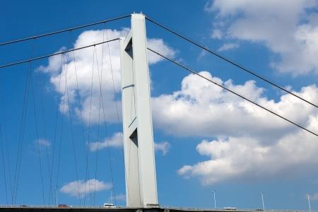 bosporus: Istambul - Bosporus Bridge connecting Europe and Asia