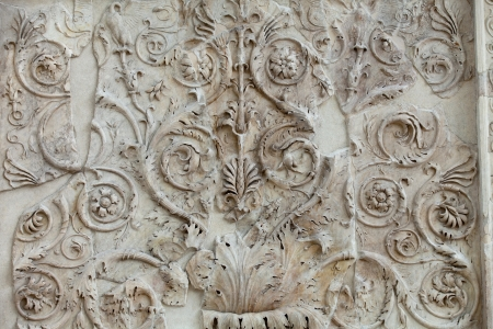 Rome - Ara Pacis, Altar of Augustan Peace 版權商用圖片