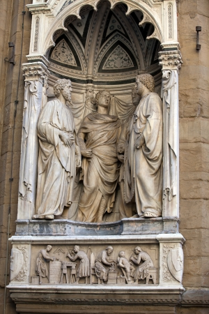 niches: Florence - Church of Orsanmichele. Four Crowned Martyrs or Four Saints
