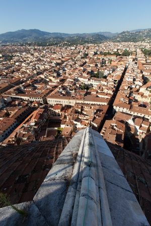 The view on Florence  from the dome Duomo photo