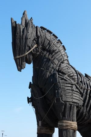 cavallo di troia: La copia di Troia cavallo di legno a Canakkale, Turchia