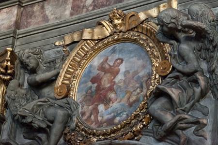 Basilica of Santissima Annunziata in Florence . Italy Stock Photo - 18777561