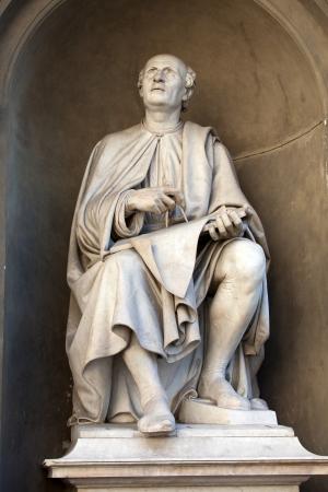 descubridor: Estatua del famoso arquitecto Bruneleschi - Florencia.