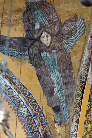 Interior of the Hagia Sophia in Istanbul  Turkey