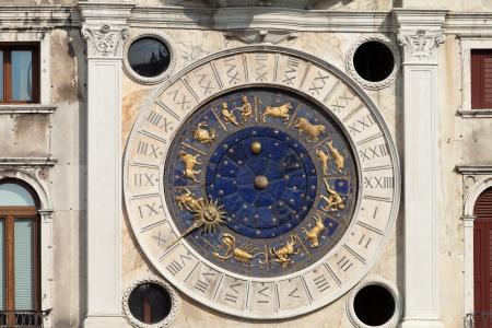 clocktower: Venice, Torre dell'Orologio - St Marks clocktower.