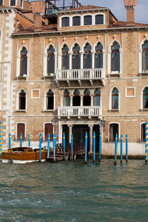 Venice - Exquisite antique building at Canal Grande Stock Photo - 20161081