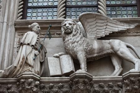 leon con alas: Venecia. Le?lado de San Marcos - s?olo de Venecia
